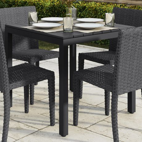 CorLiving Brisbane Square Outdoor Dining Table - image 3 of 4