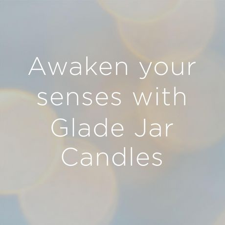 Glade Jar Candle Strawberry Pop, Quickly Fills Rooms With Essential Oil Infused Fragrance - image 2 of 8