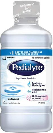 Pedialyte Oral Electrolyte Maintenance Solution - Unflavoured - image 1 of 1