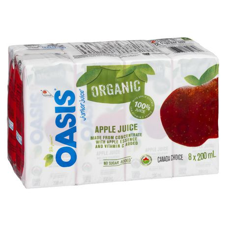 Oasis Junior Juice Organic Apple Juice - image 1 of 3