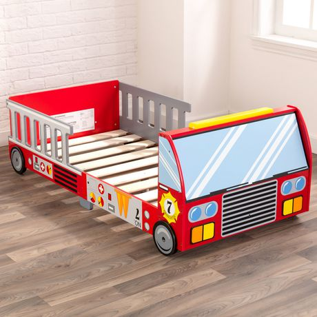 KidKraft Lit de bébé Camion de pompiers - image 8 de 8