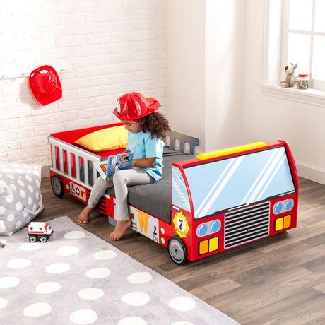 KidKraft Lit de bébé Camion de pompiers - image 4 de 8