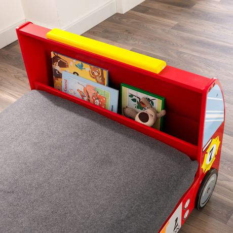 KidKraft Lit de bébé Camion de pompiers - image 5 de 8