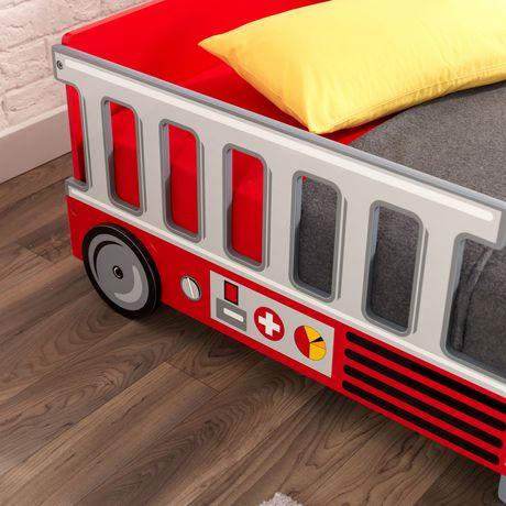 KidKraft Lit de bébé Camion de pompiers - image 6 de 8