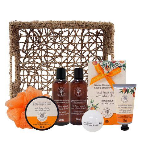 Orange Blossom Bath Set in Basket - image 2 of 3