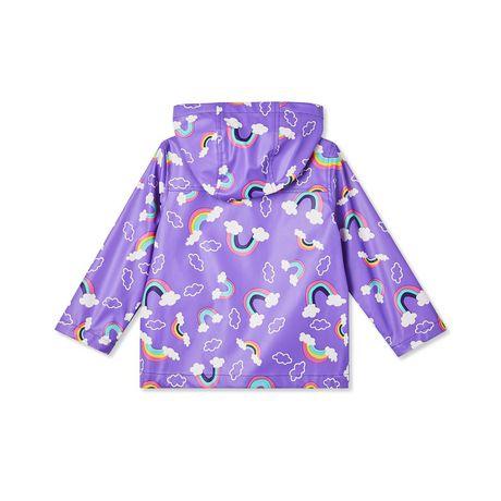 George Toddler Girls Rainbow Raincoat Walmart Canada