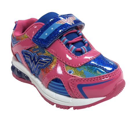 Wonder Woman Lighted Toddler Girls' Athletic Shoes - image 2 of 4