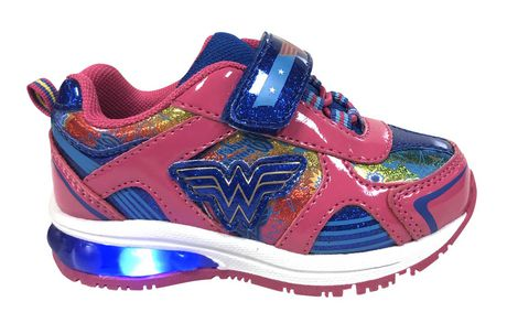 Wonder Woman Lighted Toddler Girls' Athletic Shoes - image 1 of 4