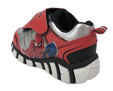 Spider-Man Marvel Lighted Toddler Boys' s  Athletic  Shoes - image 3 of 5