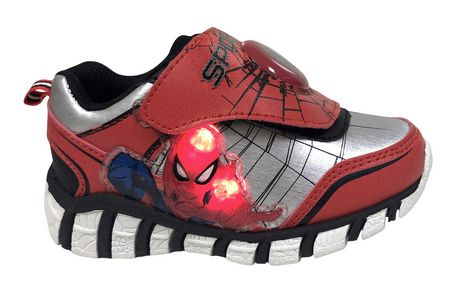 Spider-Man Marvel Lighted Toddler Boys' s  Athletic  Shoes - image 1 of 5