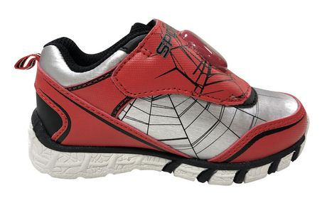 Spider-Man Marvel Lighted Toddler Boys' s  Athletic  Shoes - image 4 of 5