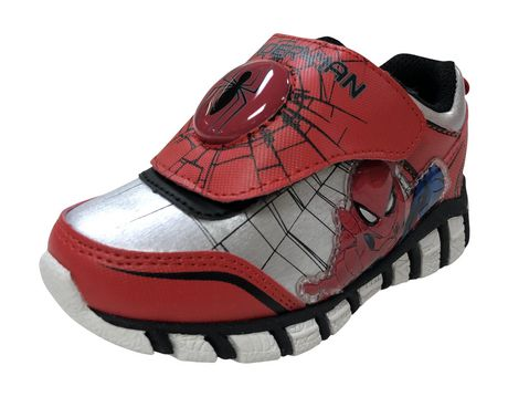 Spider-Man Marvel Lighted Toddler Boys' s  Athletic  Shoes - image 2 of 5