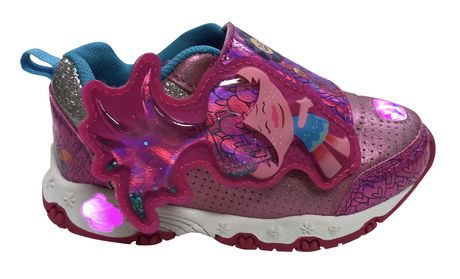 DreamWorks Trolls Lighted Toddler Girl's Athletic Shoes - image 1 of 5