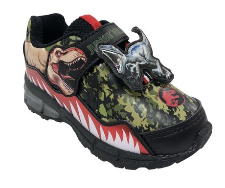 Jurassic World Lighted Toddler Boys's Athletic  Shoes - image 2 of 5