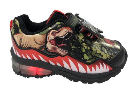 Jurassic World Lighted Toddler Boys's Athletic  Shoes - image 1 of 5