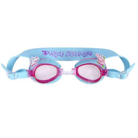 e251291da1 Peppa Pig Kids Swim Goggles - image 1 of 3 ...