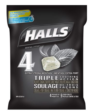 Halls Extra Strong Menthol Triple Soothing Action Cough Tablets - image 1 of 1