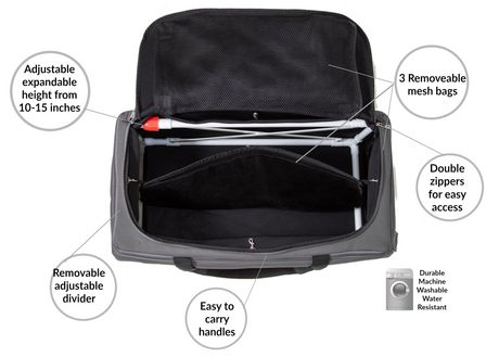Collapsible Multi-Use Organizer Duffle Bag FlexBag by LUMEHRA - image 6 of 9
