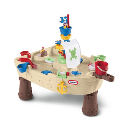 Little Tikes Anchors Away Water Play Pirate Ship - image 1 of 6