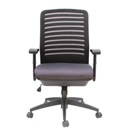 chaise de bureau tygerclaw en tissu haut dossier walmart canada. Black Bedroom Furniture Sets. Home Design Ideas