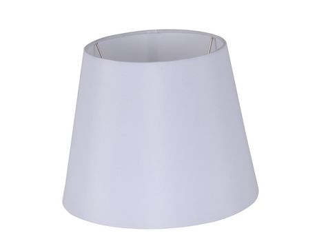 "10"" White Fabric Shade - image 1 of 1"