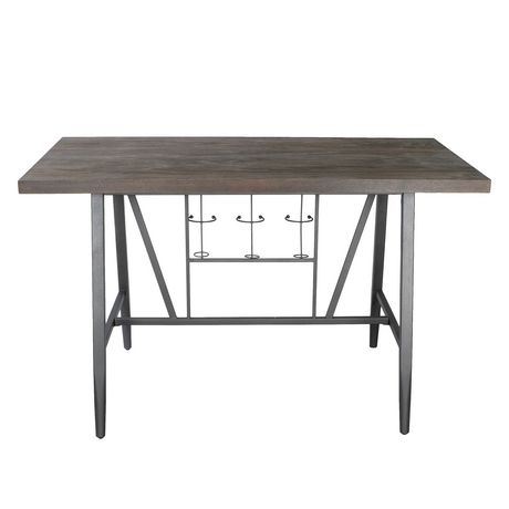 Wine rack dining table Wood Primo International Franklin Counter Height Dining Table With Wine Rack Kodukaiinfo Primo International Franklin Counter Height Dining Table With Wine