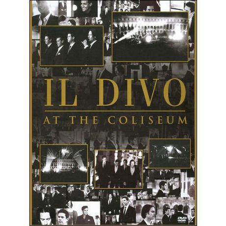 Il divo at the coliseum music dvd walmart canada - Il divo songs ...