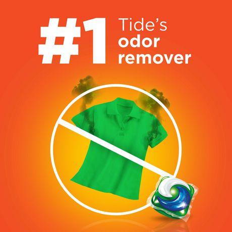 Tide PODS™ Plus Febreze™ Laundry Detergent Pacs, Botanical Rain Scent, 54-count tub - image 5 of 6