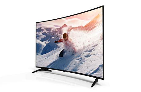 "Haier 65"" 4K 60hz Curved UHD LED TV - image 2 of 2"