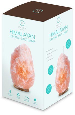 Lampe en cristal de sel himalayen de Boutique Home - image 2 de 3