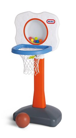 Walmart has the Little Tikes Slam Dunk Ball Pit for $Free site-to-store. Tax in most states. This is at least $7 less than elsewhere. Features large basketball hoop, includes 10 air-filled balls, inflatable basketball, repair patch, PVC materials, and more.