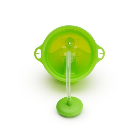 Munchkin Any Angle Click Lock™ Weighted Straw Cup - 10oz (green) - image 4 of 5