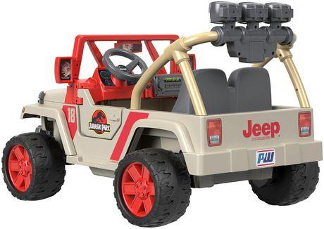 Power Wheels Jurassic Park Jeep Wrangler - image 5 of 9
