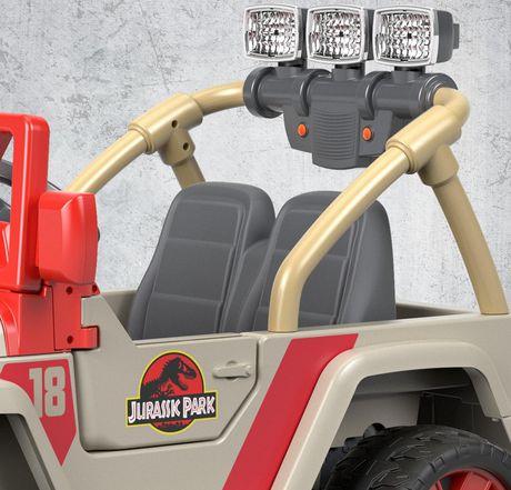 Power Wheels Jurassic Park Jeep Wrangler - image 7 of 9