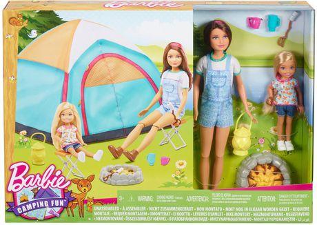 barbie camping poup e et accessoires walmart canada. Black Bedroom Furniture Sets. Home Design Ideas