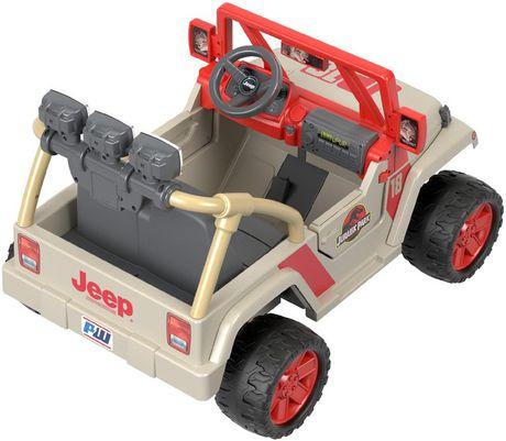 Power Wheels Jurassic Park Jeep Wrangler - image 4 of 9