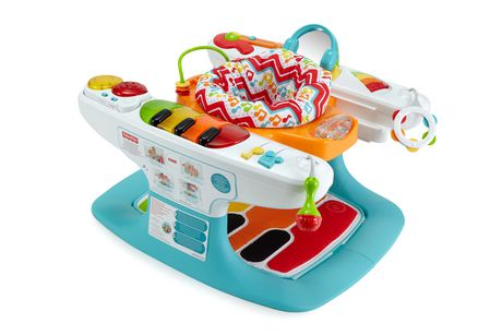 Fisher-Price 4-In-1 Step 'N Play Piano Multi