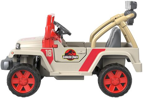 Power Wheels Jurassic Park Jeep Wrangler - image 6 of 9