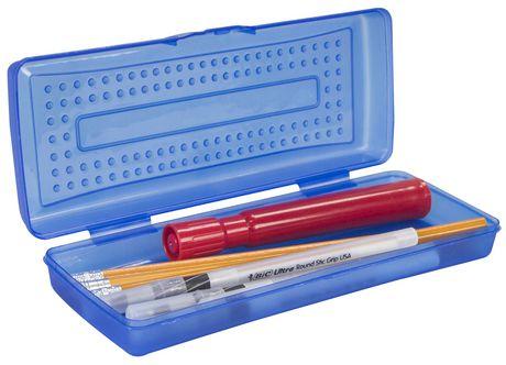 Case Blue Mini Pack : Storex mini pencil case blue 12 units pack walmart canada