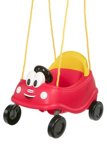 Premi re balan oire cozy coupemd de little tikes for Balancoire exterieur walmart