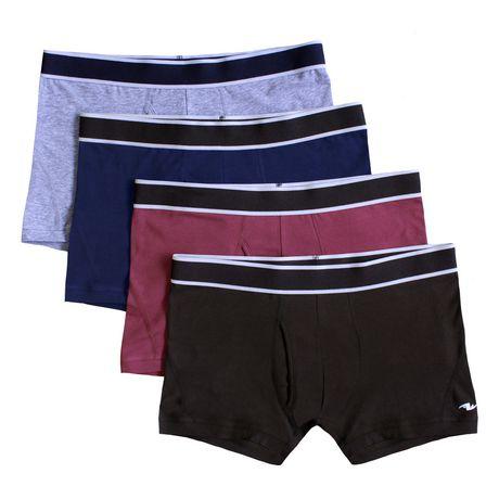 75a9b5910e6cfa Athletic Works Men's Underwear 4-Pack Trunks | Walmart Canada