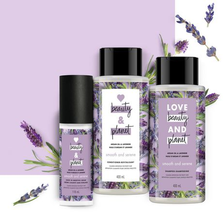 Love Beauty and Planet Argan Oil & Lavender Shampoo - image 5 of 9