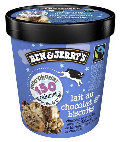 Ben & Jerry's Moo-Phoria Chocolate Milk & Cookies Ice Cream 500 ML - image 5 of 5