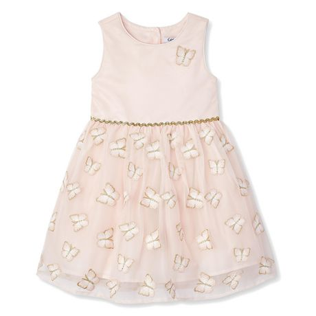 875f5109f80f George Toddler Girls' Butterfly Dress   Walmart Canada
