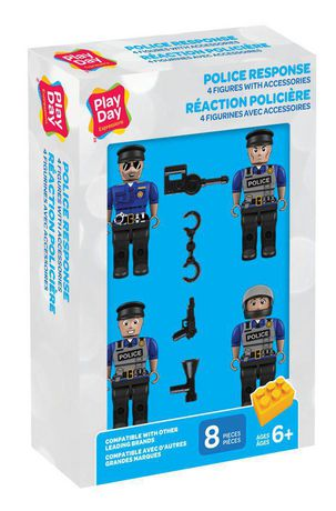Play Day - Police Figures 4 pk