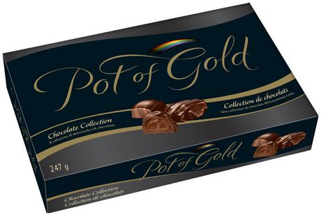 Pot Of Gold Hershey's Pot Of Gold Dark Chocolate Collection