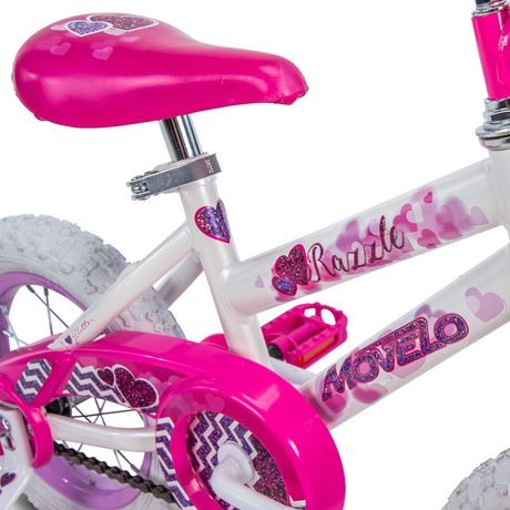 "Movelo Razzle 12"" Girls' Steel Bike - image 4 of 6"