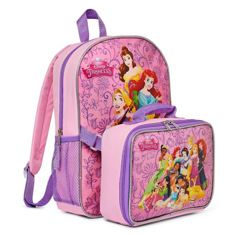 Disney Princess Backpack And Lunch Bag - image 1 of 3 ...