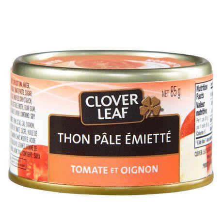 Thon pâle émietté CLOVER LEAF® - tomate et oignon - image 2 de 3