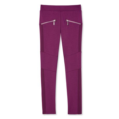 George Girls' Moto Pants - image 1 of 2